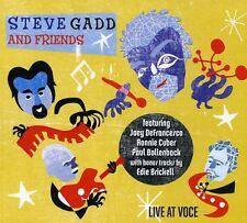 Steve Gadd, Steve Gadd & Friends - Live at Voce [New CD] Digipack Packaging