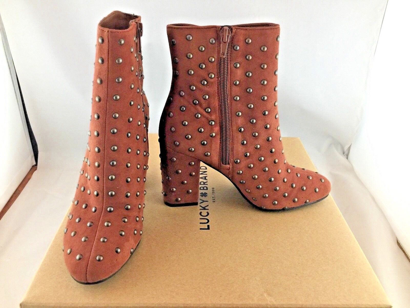 Lucky Brand Women's WESSON2 Ankle Boot Rye 5 M US