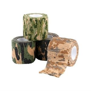 Elastic-Camouflage-Waterproof-Outdoor-Hunt-Camping-Stealth-Camo-Wrap-Tape-og