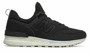 Details about New Balance Women's 574 Sport Shoes Black With Blue