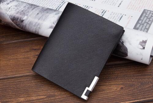 NEW Men Lather Wallet Credit Card Holder Cash Holder Colour Black