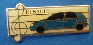 pins pin BADGE CAR RENAULT CLIO ELF MICHELIN   ARTHUS BERTRAND