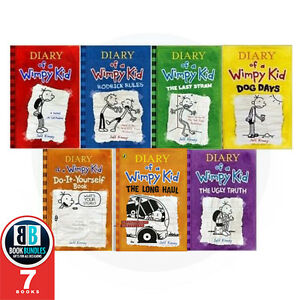 Jeff-Kinney-Diary-of-a-Wimpy-kid-collection-The-Long-Haul-7-Books-Set
