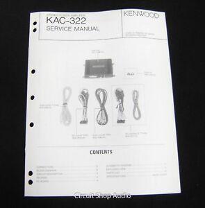 kenwood kdc 322 owners manual