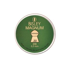 200 X Bisley .22//5.5 mm Magnum poids lourd en forme de dôme Pellets