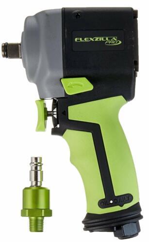 "Flexzilla AT1475FZ Pro Mini Impact Wrench 1//2/"" Drive High Flow Ball Swivel Plug"