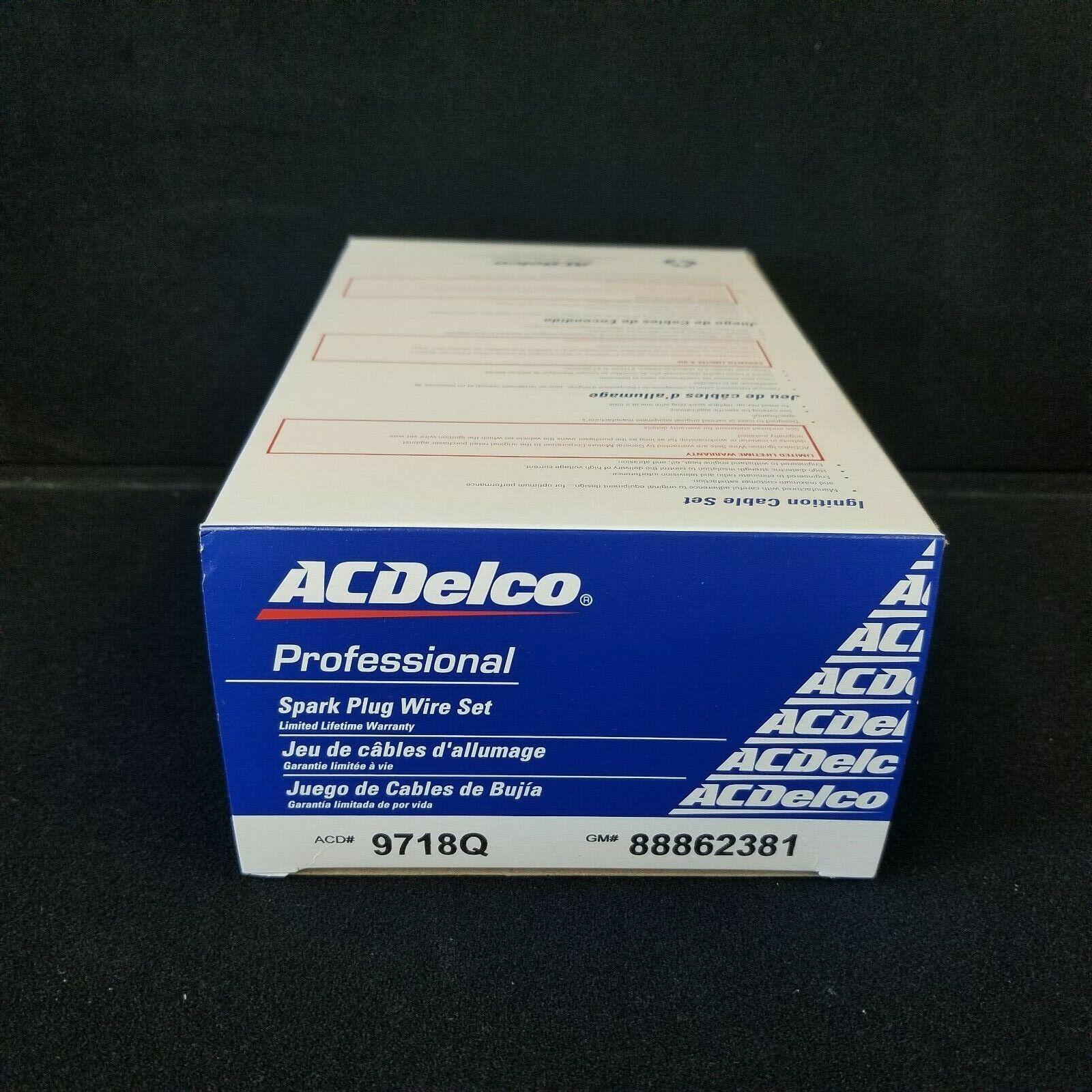 Spark Plug Wire Set ACDelco Pro 9718Q