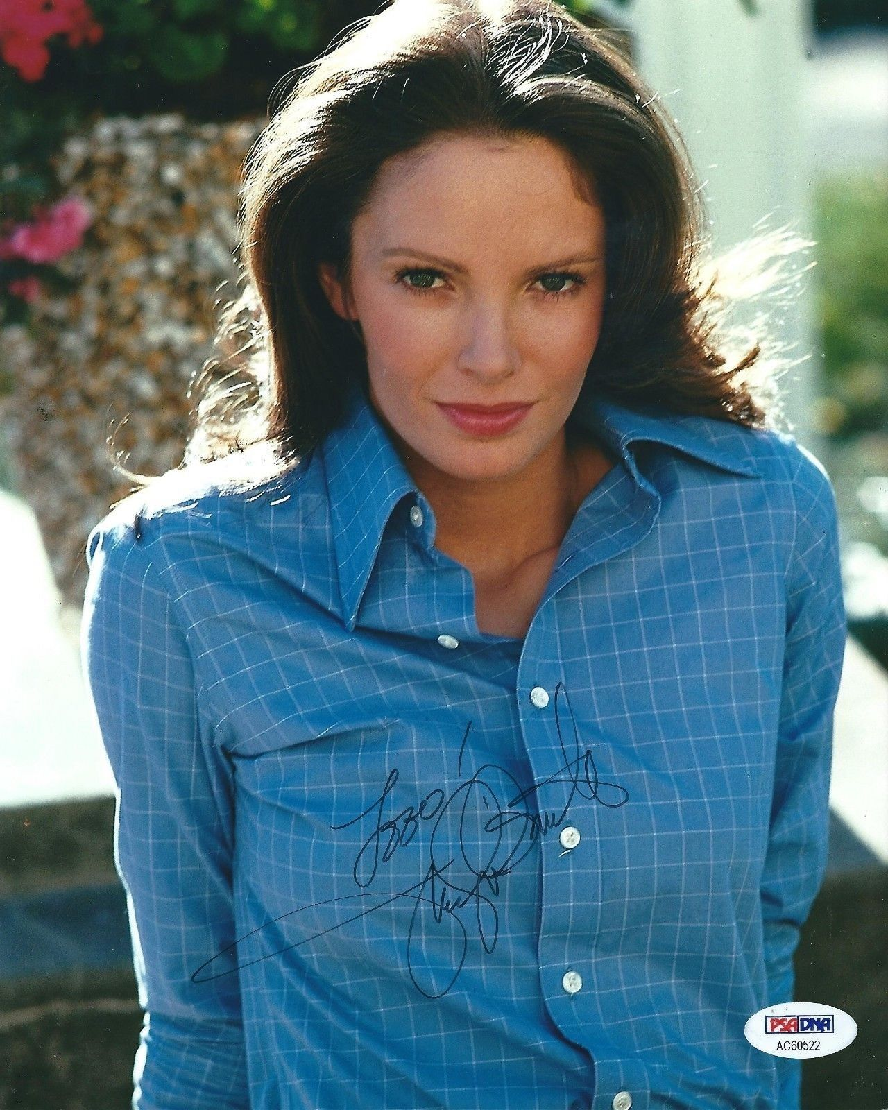 Jaclyn Smith Signed Charlie's Angels 8x10 Photo *Actress PSA/DNA AC60522