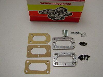 Weber Carburetor Manifold Adapter for Honda Accord 86-89 Carb 32//36 38//38