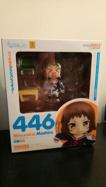 446 Mitsumine Mashiro Nendoroid Pre Di Proprietà Ufficiale Buono Per Succhietto Antipiretico E Per La Gola