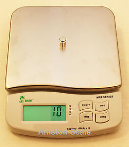 Details about HIGH QUALITY COMPACT DIGITAL SCALE 10000 x 1 GRAM 22 LB x  0 002 LB PHARMACY NEW