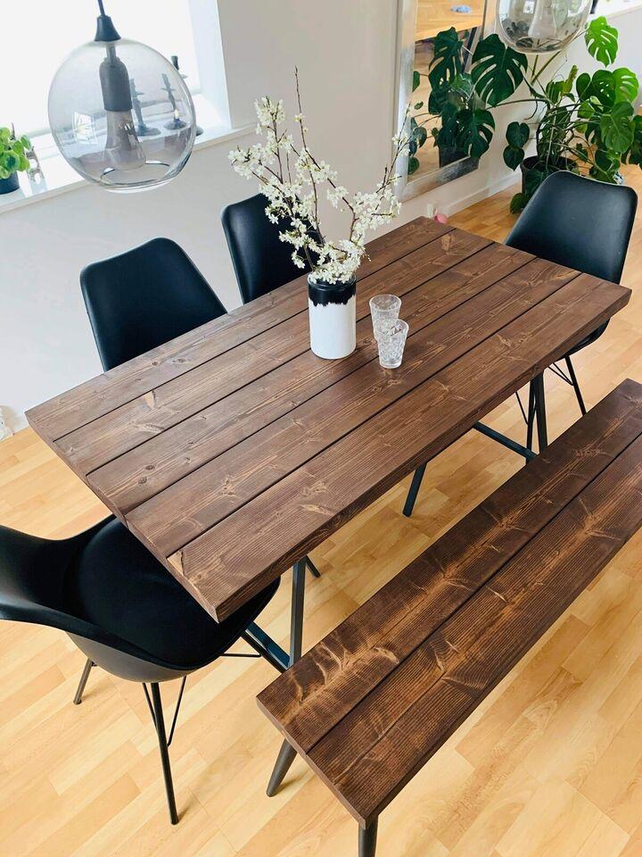 Spisebord, Fyrretræ, b: 73 l: 140