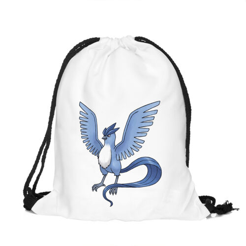 Unisex Girl Boy Drawstring Swim Sport Shoes Dance PE Schoolbag Backpack Gym Bags