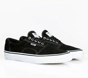 355876b222c6 Vans Rowley Solos Black White Pewter Skate Shoes MEN S 6.5 WOMEN S 8 ...