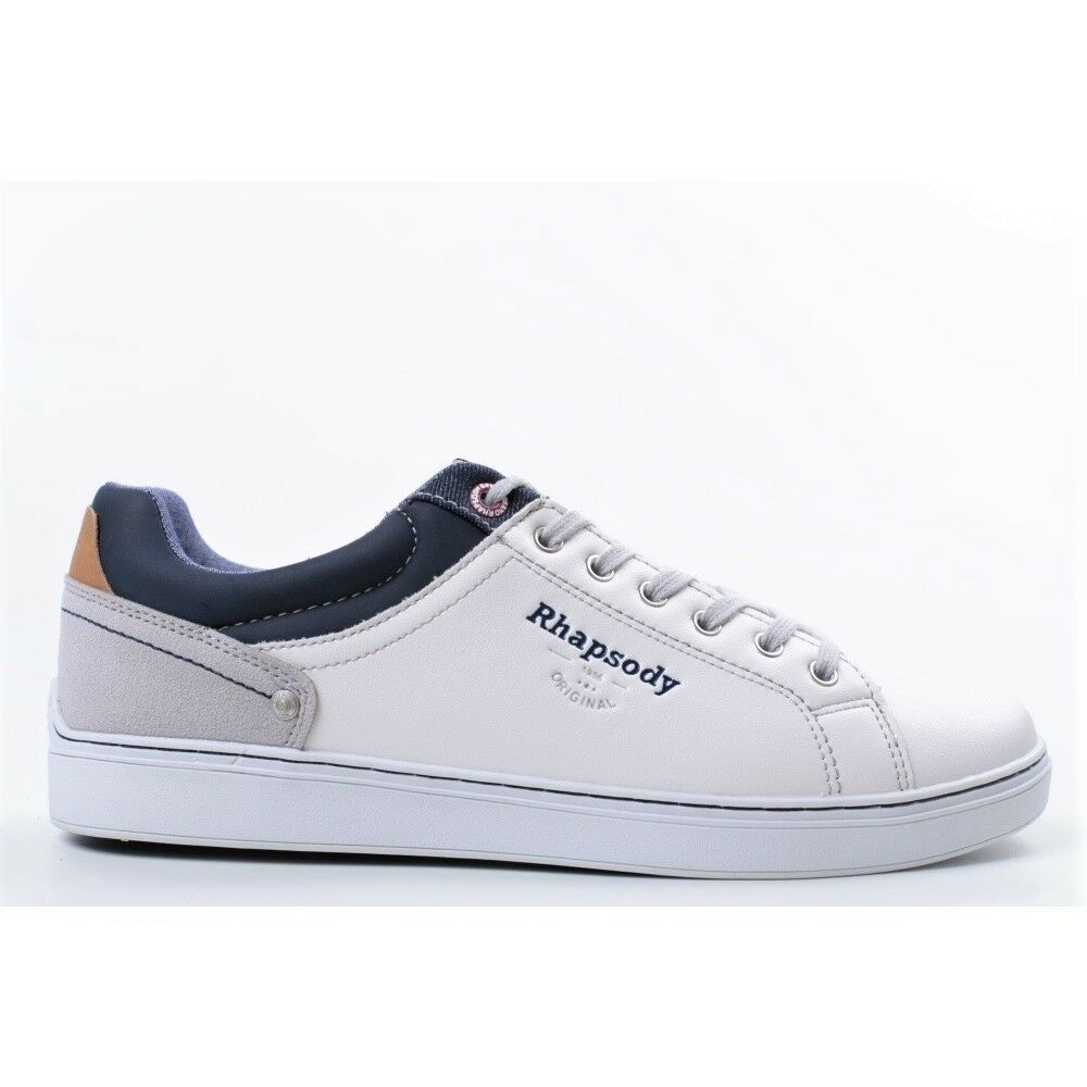 Men's shoes Rhapsody 703018 with White Sneakers Fashion