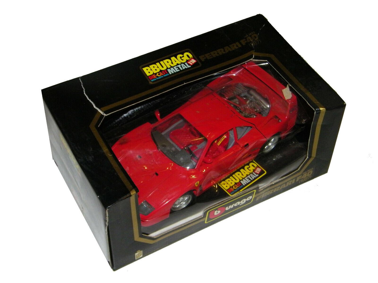 Bburago Ferrari F40 1987 cod 3032 Modelauto rot                             25
