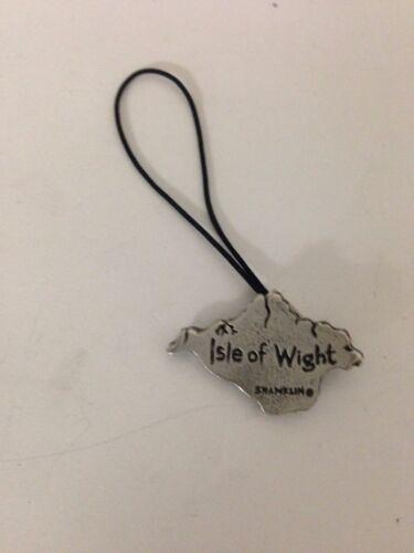 Isla de Wight R182 inglés estaño emblema en un teléfono móvil encanto