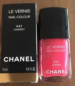 CHANEL Nail Polish LE VERNIS - 441 Cherry - New in Box
