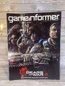 Game Informer Magazine Issue # 276 April 2016 Gears Of War 4 New Beginning