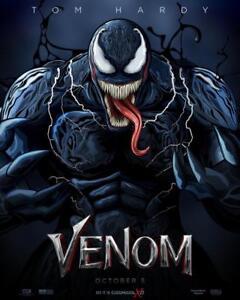 VENOM-11-034-x17-034-Original-Promo-Movie-Poster-MINT-Cinemark-2018-Tom-Hardy-Marvel