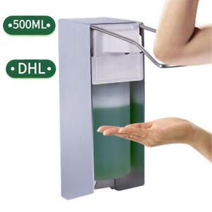 Seifenspender-Eurospender-Desinfektionsmittelspender-500-ml-Wandseifenspender