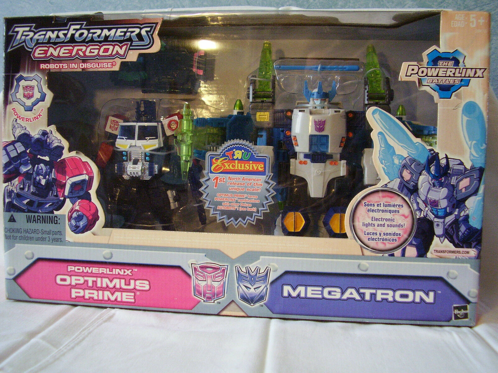 Transformers Energon Powerlinx Optimus Prime - Megatron