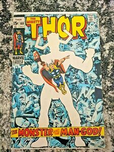 The-Mighty-Thor-169-GALACTUS-ORIGIN-Marvel-1969-Key-Issue-15-Cent-Cover