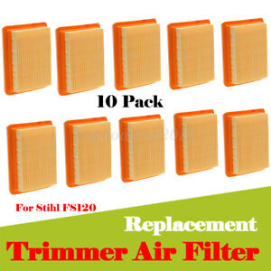 10x Trimmer Air Filter Cleaner Replacement For Stihl FS120 FS200 FS250 FS450