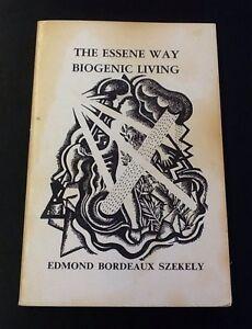 The-Essene-Way-Biogenic-Living-by-Szekely-1989-paperback