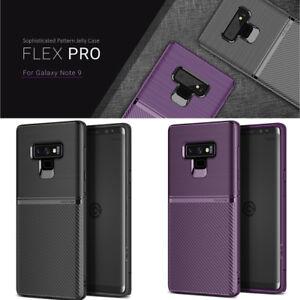 best cheap 439aa 615e0 Details about OBLIQ Flex Pro Carbon Pattern Slim TPU Soft Rubber Cover For  Galaxy Note 9 Case