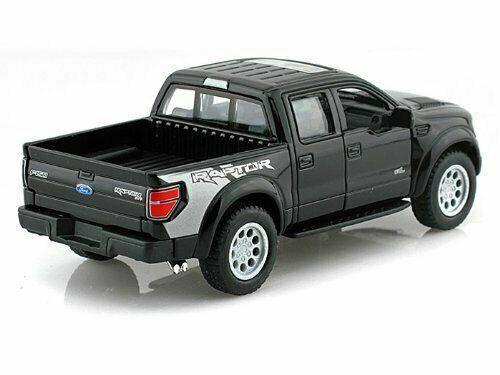 Diecast Toy Car Ford 2013 F-150 SVT Raptor Supercrew 1:46 5/'/' Pick Up Truck