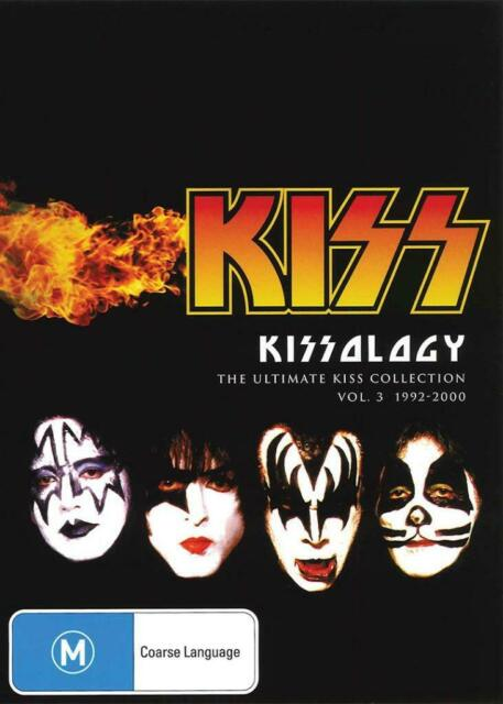 KISSOLOGY VOLUME 3 - 1992 - 2000 - NEW & SEALED DVD FREE LOCAL POST