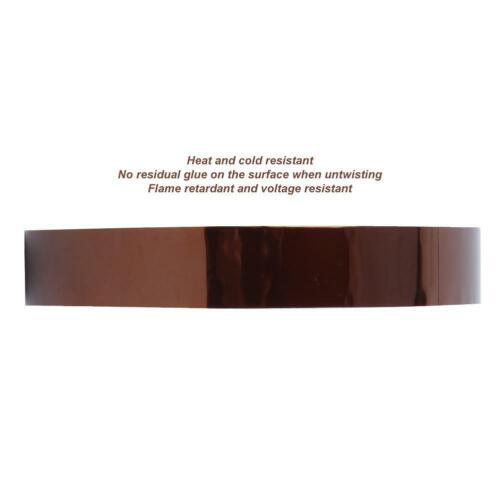 0.065mmx15mmx33m Polyimide Film Heat Resistant Industrial Tape for Insulating HQ