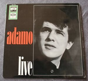 Adamo-Live-LP-33-tours-import-Germany