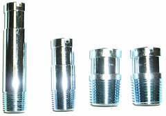 MOPAR 1964-69 Small Block Heater Hose Tip Set Nipples Fittings 340 318 Nipple 65