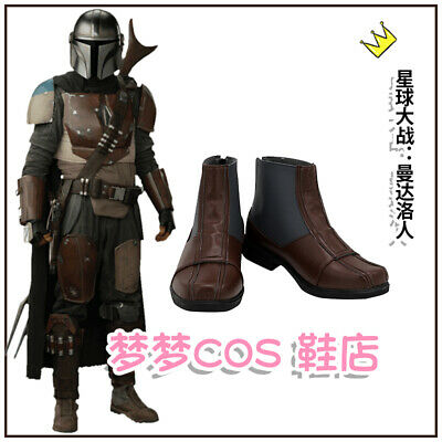 Movie Mandalore People Cosplay Shoes Costume Boots Custom Made