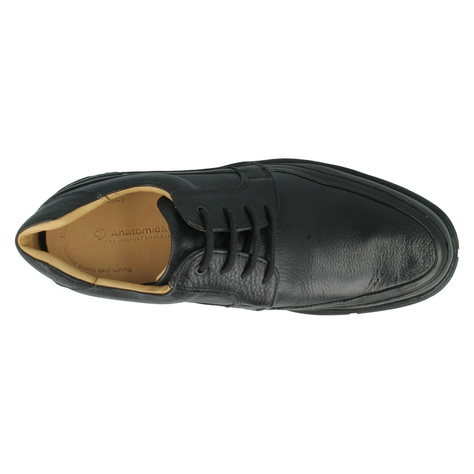 SMART Herren ANATOMIC GEL FLEXIBLE SOLE BLACK GRAIN LEATHER SMART  LACE UP Schuhe COLINAS 04f38a