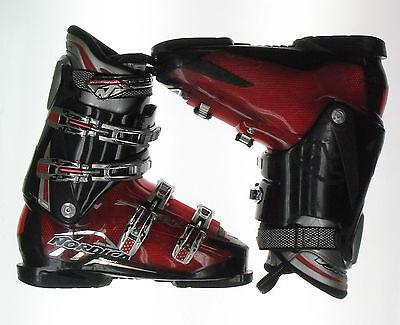 Used Nordica Sport Machine Red Ski Boots Men's Size