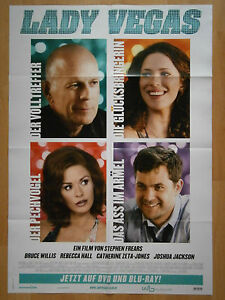Filmposter &quot;Lady Vegas&quot; Bruce Willis, Catherine Zeta-Jones, Rebecca Hall - NEU! - <span itemprop=availableAtOrFrom>Erlangen, Deutschland</span> - Filmposter &quot;Lady Vegas&quot; Bruce Willis, Catherine Zeta-Jones, Rebecca Hall - NEU! - Erlangen, Deutschland