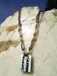 aduya-Elegante-Perlmutt-Muschelkette-Perlenkette