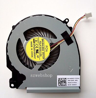 New for dell Inspiron 15-7000 5577 5576 7557 7559 CPU fan 0RJX6N as photo