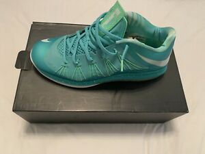 finest selection ee16b 4e7f6 Details about Lebron X Low Easter Mint South Beach Size 12 Lakers James Kith