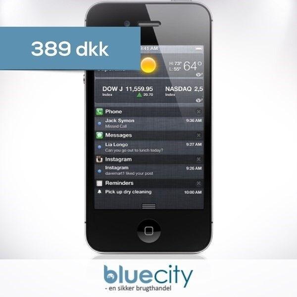 iPhone 4S, GB 8, sort