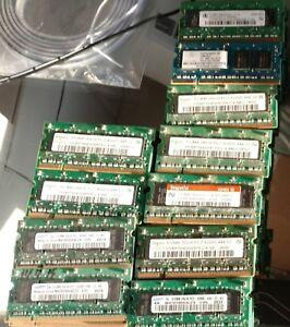 2GB kit 2X 1GB DDR PC2 PC DDR2  PC2-4200S  533MHz  4200 533 200pin SODIMM INTEL