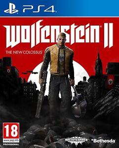 Wolfenstein 2  The New Colossus PS4 NUEVO CASTELLANO  ESPAÑOL