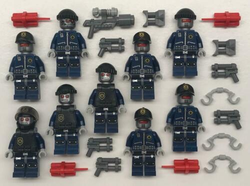 Army Super Secret Police The Lego Movie Figure Lot 9 Robo SWAT Minifigs