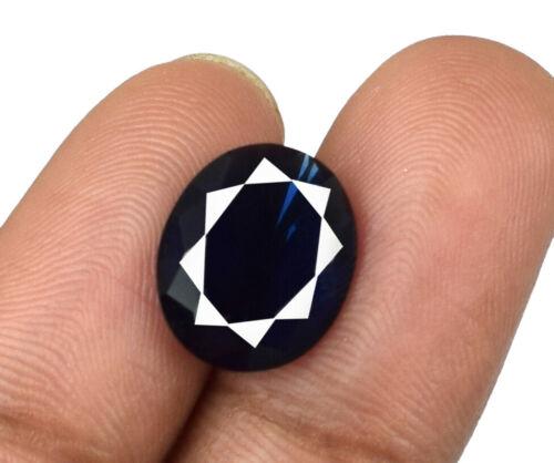 Blue Sapphire Gemstone Birthstone 3.15 Carat Natural Ceylon Oval AGSL Certified