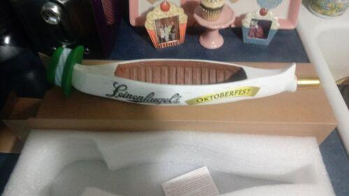 LEINENKUGELS OCTOBERFEST CANOE BEER TAP HANDLE BRAND NEW IN BOX 13 INCH