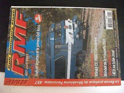 **j Rmf Rail N°458 Déclinaison En Modélisme H0 / Wagon Trémie Roco
