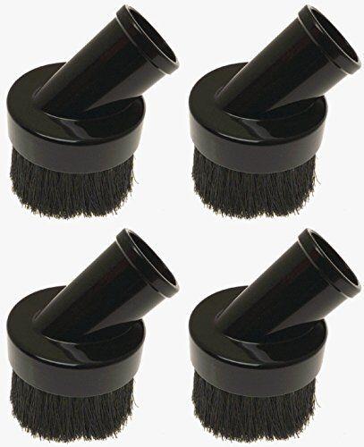 Shop-Vac 9061500 1-1//4-Inch Diameter Vacuum Cleaner Round Dusting Brush